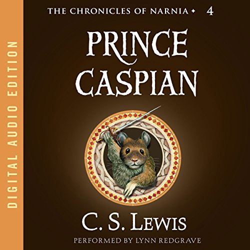 Prince Caspian audiobook cover art