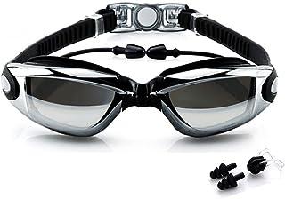 Anuncio patrocinado: BEEWAY Gafas de natación, Premium cómodo Gafas de natación Tapones para los oídos adjunta, Anti Niebl...