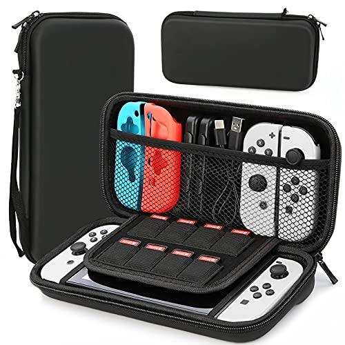 HEYSTOP Schutzhülle für Nintendo Switch, tragbar, für Nintendo Switch Konsole und Zubehör
