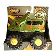 Road Rippers Rev-up Monsters Green Tricera Dino Monster Truck/Van