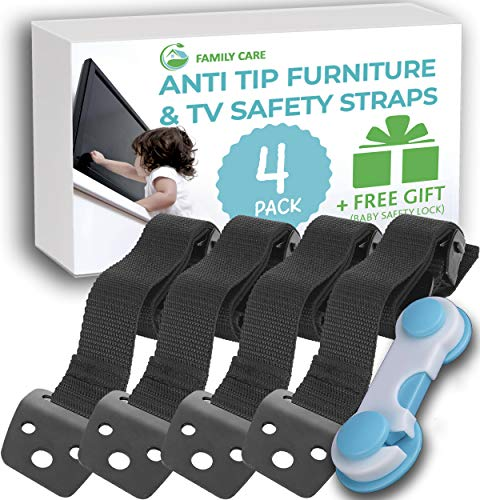 Family Care TV and Furniture Safety Straps
