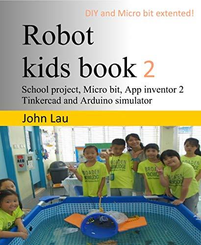 Robot kids book 2 (English Edition)