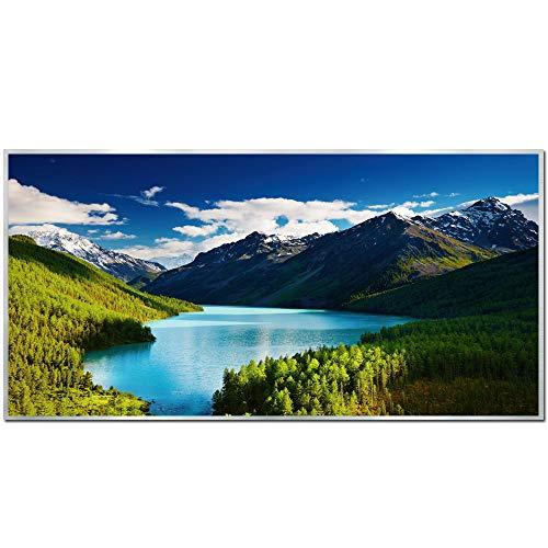 Ecowelle Infrarotheizung mit Bild | 750 Watt | 60x120 cm | Infrarot Heizung| | Made in Germany| (28)