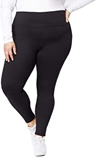 Womens Plus-Size High Waisted Ultra Stretch Yoga Legging