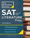Princeton Review SAT Subject Test Literature Prep, 17th Edition: 4 Practice Tests + Content Review + Strategies & Techniques (College Test Preparation)