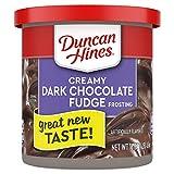 Duncan Hines Creamy Home-Style Dark Chocolates Fudge Frosting 453 g