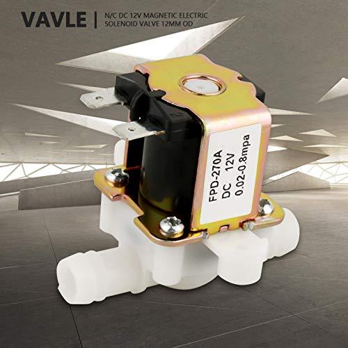 Controlador de agua DC12V OD12mm, válvula solenoide eléctrica, controles de riego, controles...