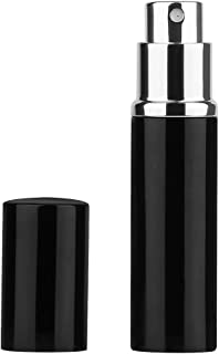 Perfume Atomizer Refillable Travel, Yebeauty 6ml Portable Perfume Spray Pump Bottles Fits in Purse for Men and Women, Pocket or Luggage - Black