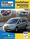 E.T.A.I - Revue Technique Automobile B728.5 - CITROEN /- FIAT/- PEUGEOT JUMPY/SCUDO/EXPERT II - 2007 à 2016