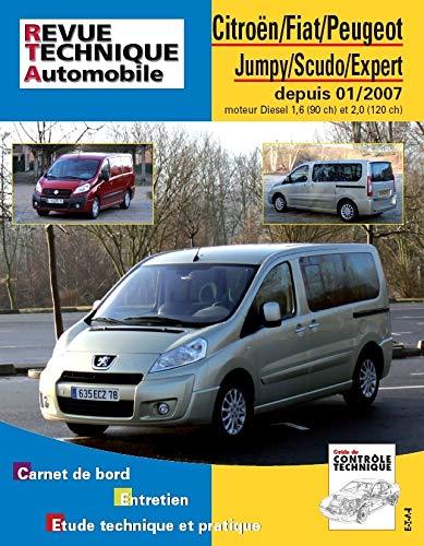 Citroën Jumpy, Fiat Scudo, Peugeot Expert - depuis 01-2007