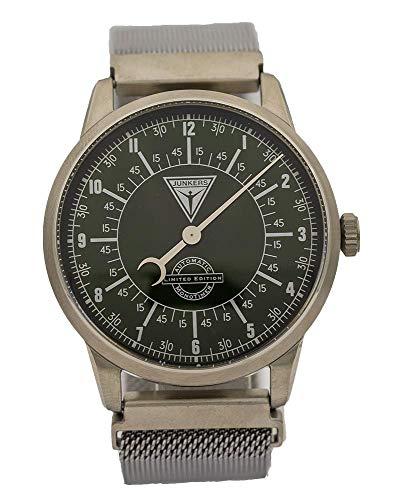Junkers Herren Automatikuhr - Monotimer Limited Edition Milanaise Armband Silber 6460-4 -...