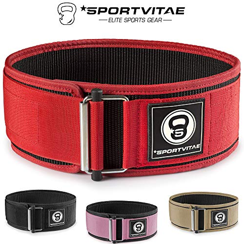 Sportvitae - Cinturón Musculación para Crossfit Halterofilia Powerlifting...
