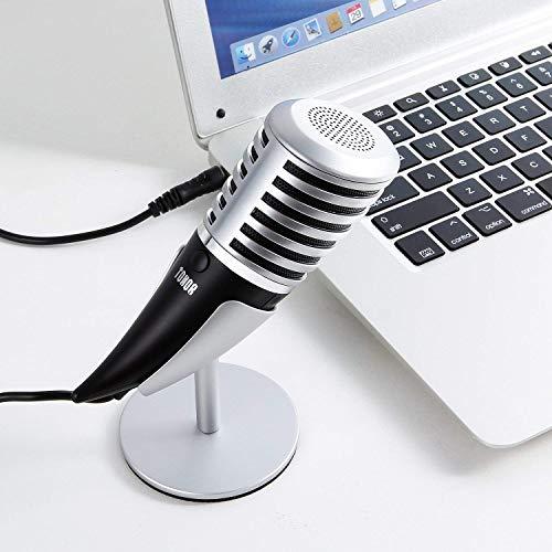 Daxiong Rhinoceros Horn Modellierungsspiel Anker Kondensatormikrofon K Song Handmikrofon Metallhalterung