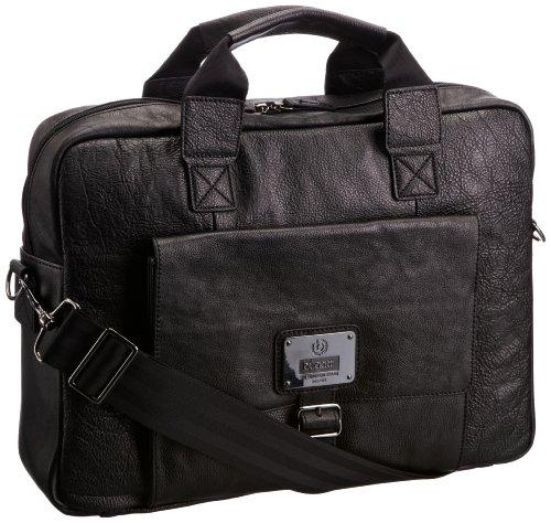 Bugatti Bags Businesstasche Confident, schwarz, 41 X 31 X 11 cm, 20 liters, 49513601