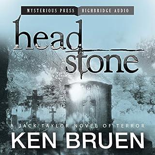 Headstone audiobook cover art