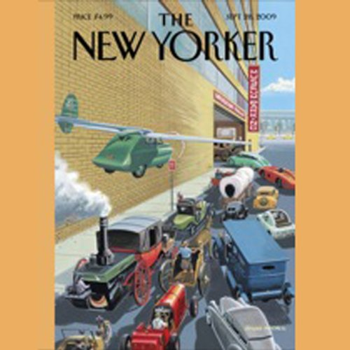 The New Yorker, September 28, 2009 (Susan Orlean, Michael Specter, James Surowiecki) cover art
