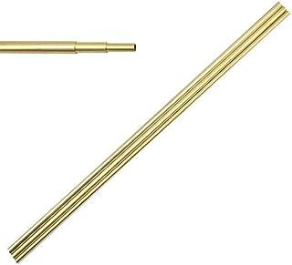 Eowpower 3Pcs Metal Copper Brass Round Tubes, Diameter 4mm, 5mm, 6mm Length 12 inch