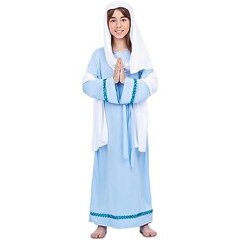 My Other Me Disfraz de Virgen María para niña: Amazon.es: Juguetes ...