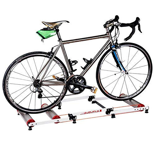 CHHD Indoor Bike Trainer Geschwindigkeit Einstellbar mit variablem Widerstand Bike Trainer Stand Bike Trainer Stand Stahl Fahrrad Übung Lärm Übung Fitness Stationärer Rahmen
