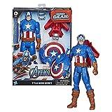Avengers Figura Titan Con Accesorios Capitan América (Hasbro...