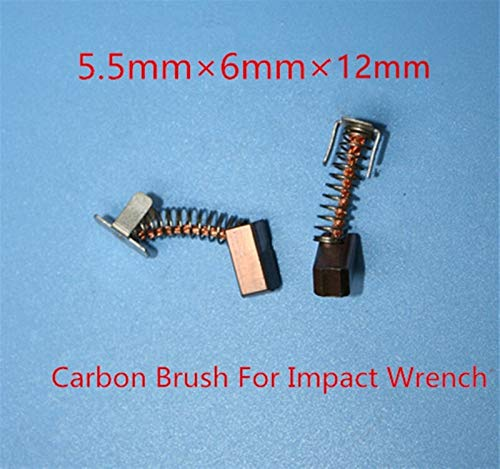 Repairing Part Carbon Brushes Replace for Bosch 18V 14.4V GDR18V-LIMF GDR14.4V-LI MFGDS18V-LI IWH181 GDS18V-LI Replacement Part for Electric Tools (Color : 5 Paris)