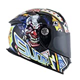 Suomy Casco Sr-Sport Gamble Top Player, Grafica, XL