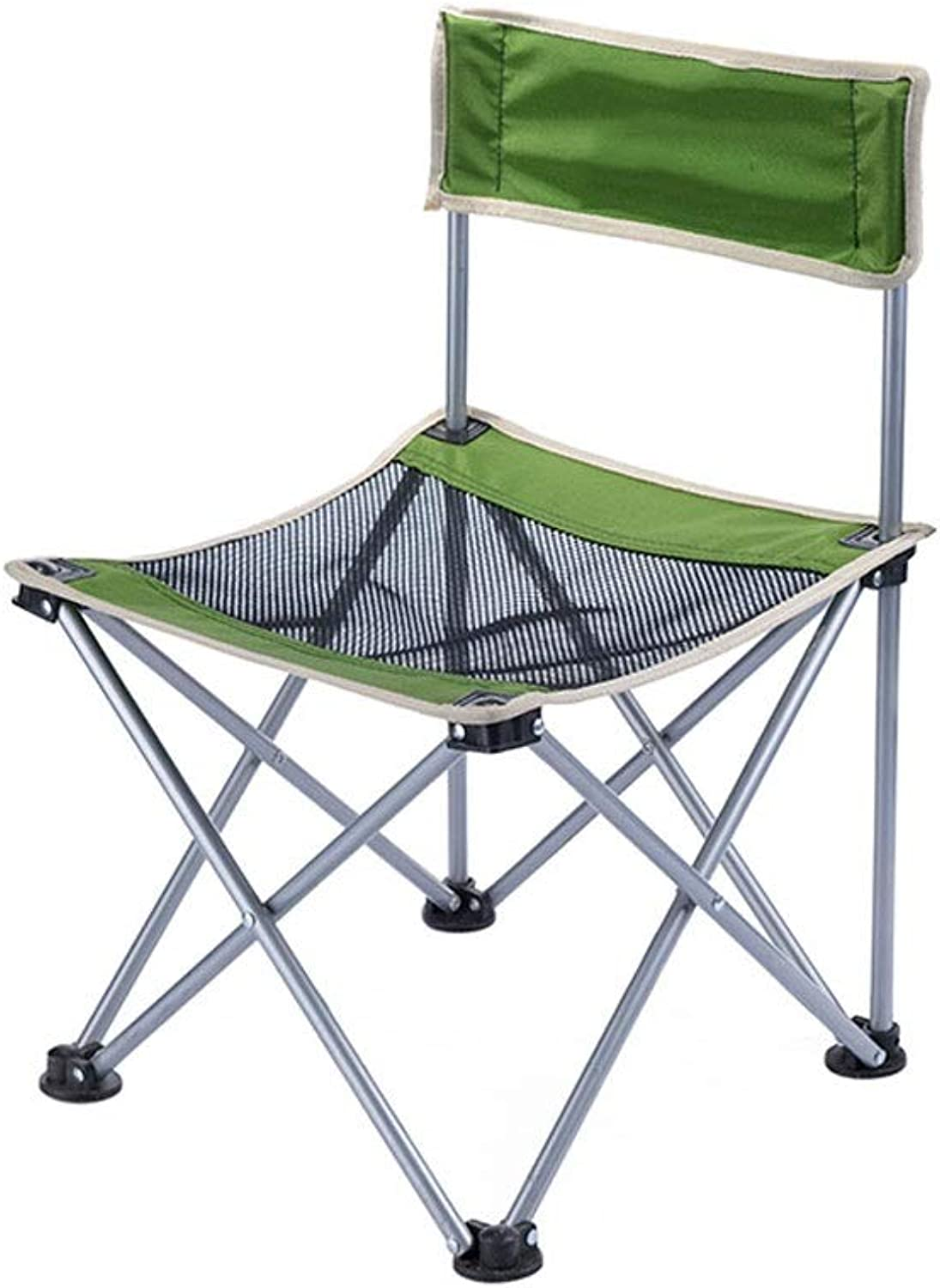 Camping Chair Breathable mesh Waterproof Nylon Cloth Outdoor Portable Folding Chair Stool Outdoor Sketch Stool NonSlip Camping Fishing Beach Chair Folding Chair
