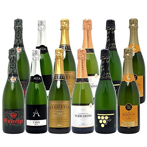 ヴェリタス スパークリングワイン 本格シャンパン製法だけの厳選泡 ワインセット 750ml 泡12本セット (6種1...