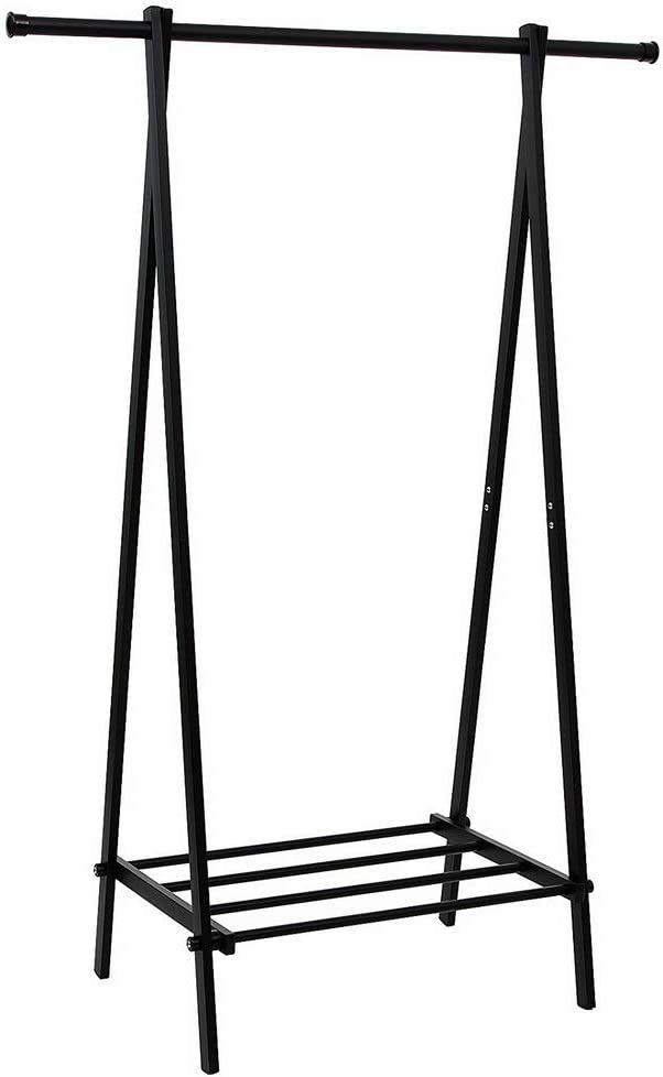 WZCUICAN One-Tier Max 65% OFF All items in the store Garment Rack Metal S Shoe Clothes Coat Storage