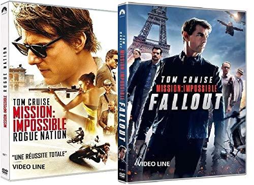 Mission Impossible : Rogue Nation / Mission: Impossible - Fallout (2 Film DVD) Edizione Italiana