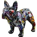 Pomme Pidou   Spardose Keramik   Bulldog Bulldog   Medium   Bunt   Keramik Spardose mit Münzschlitz und sehr schönes Dekorationsstück   inkl. GRATIS Geschenkbox