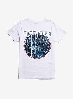 Hot Topic Iron Maiden Circle of Eddies T-Shirt