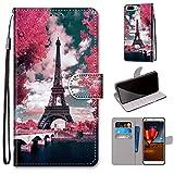 Gift_Source ZTE Blade V9 Vita Case, Wallet Case with Card
