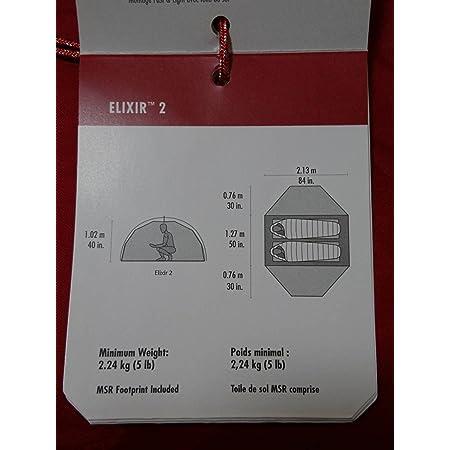 MSR Elixir2 エリクサー2 [2人用] テント V2 2018年モデル [並行輸入品]