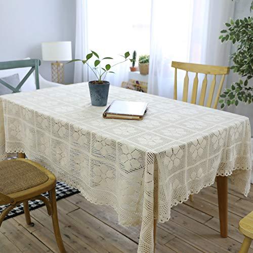 TAPETE - mantel de ganchillo a crochet para mesa rectangular