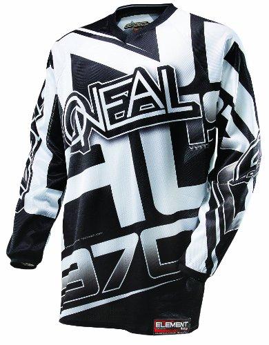 O'NEAL Element Limited Edition Jersey (Schwarz/Weiß, Medium)