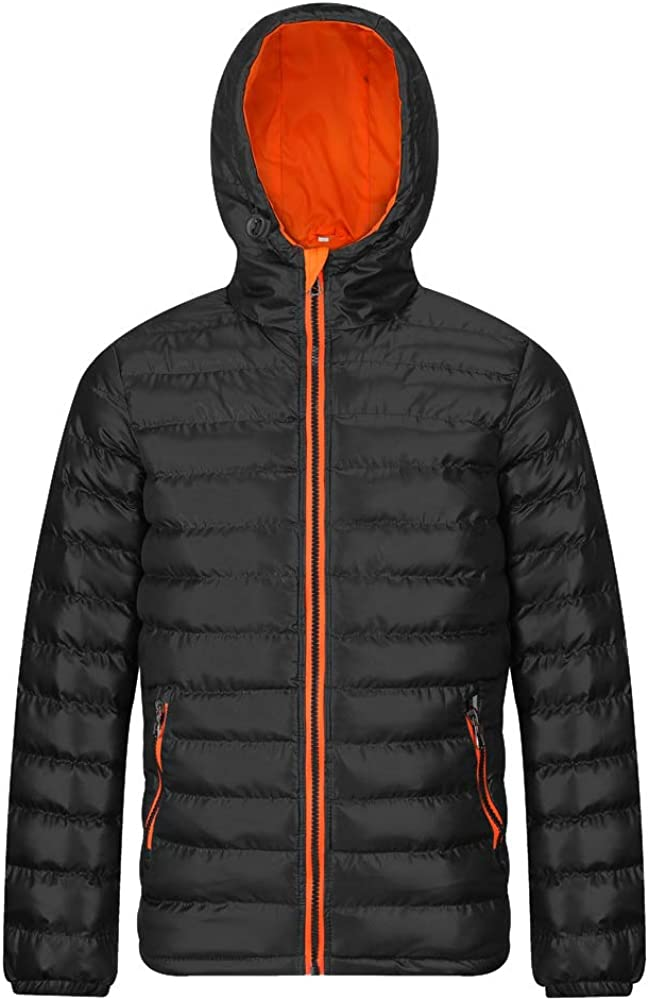 Men's Puffer Jacket Water-Resistant Insulated Down Alternative Outerwear Coats