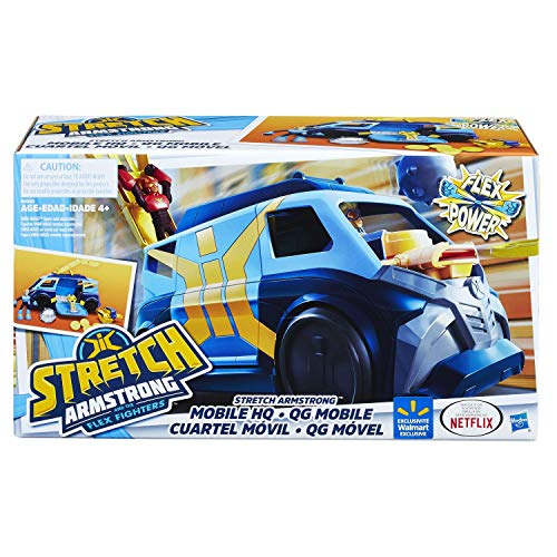 STRETCH ARMSTRONG and The Flex Fighters Flex Power Mobile Headquarters HQ Van