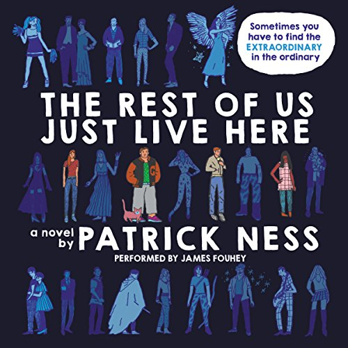 The Rest of Us Just Live Here audiobook cover art