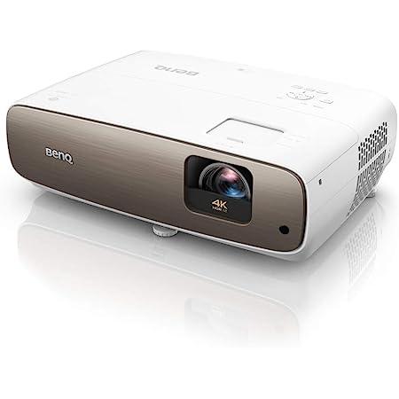BenQ W2700i Proyector Inteligente de Cine en casa de auténtico 4K con tecnología Android TV, HDR-Pro, Google Play, 95 % de DCI-P3 y 100 % de Rec. 709, 2000 lúmenes, HDMI