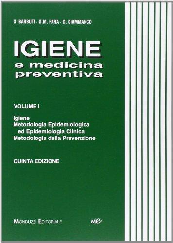 Igiene e medicina preventiva: 1