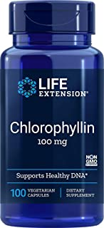 Life Extension - Chlorophyllin - 100 Mg - 100 Vcaps (Pack of 3)
