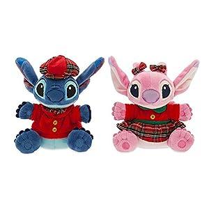 Disney Stitch and Angel Holiday Plush Duo - Mini - 6''