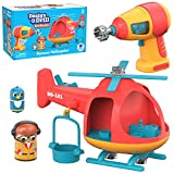 Educational Insights Design & Drill Bolt Buddies Helicopter Toy, Take Apart Toy with Electric Drill Toy, STEM Toy, Perfect Gift for Boys & Girls, Ages 3+