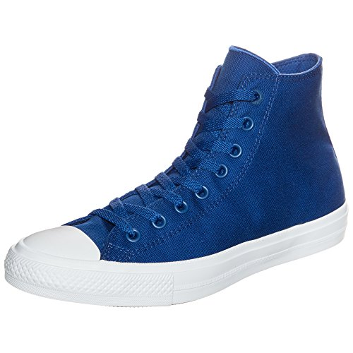 Converse Chuck Taylor all Star II High, Scarpe da Ginnastica Unisex-Adulto, Blu (Blau/Weiß Blau/Weiß), 38 EU