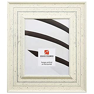 Craig Frames 81378600 16 by 20-Inch Picture Frame, Smooth Paint Finish, 3-Inch Wide, Weathered Off-White (B005BSNMO2) | Amazon price tracker / tracking, Amazon price history charts, Amazon price watches, Amazon price drop alerts