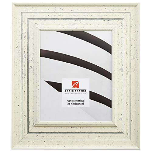 Craig Frames 81378600, Weathered Off-White Picture Frame, 16 by 20-Inch