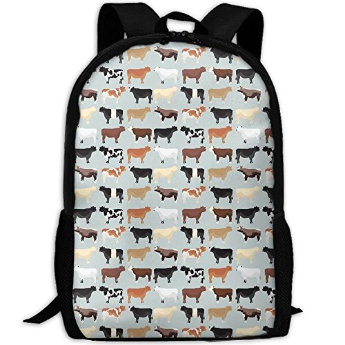 sghshsgh Rucksack für Hochschule,New Student Backpack School Backpack for Laptop Most Durable Lightweight Cute Travel Water Resistant School Backpack Farmhouse Cows Casual Daypack