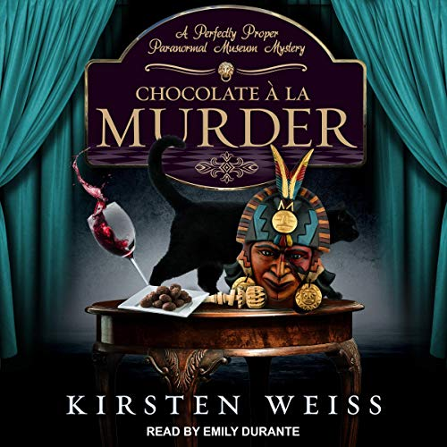 Chocolate a la Murder audiobook cover art