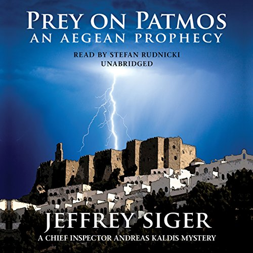 Prey on Patmos audiobook cover art